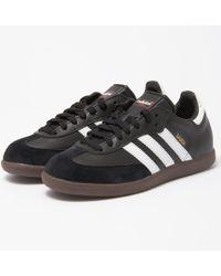 88d604bb60fb Lyst - Adidas Originals Samba Og in Black for Men