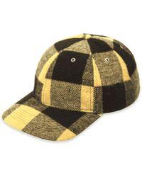 YMC Wool Baseball Cap - Yellow