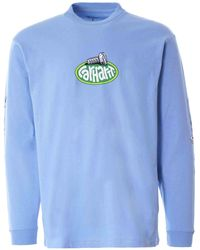 Carhartt WIP L/s Screw T-shirt - Blue