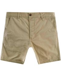 Universal Works Twill Deck Shorts - Green