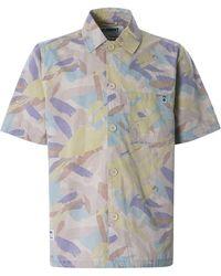Nigel Cabourn X Element Summer Short Sleeve Shirt - Multicolour