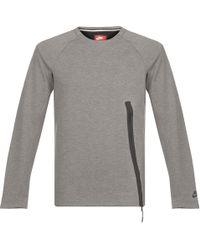 Nike - Tech Fleece Sweatshirt - Lyst