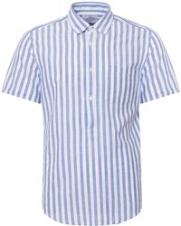 73b3800d7 Portuguese Flannel Cream El Dorado Short Sleeve Shirt in Natural for ...