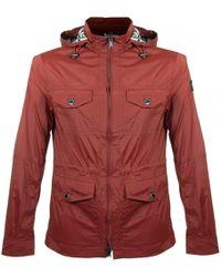 Aquascutum - Masham Garnet Field Jacket 011653154 - Lyst