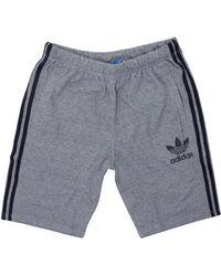 adidas Originals - Ac Baggy Mystery Blue Shorts Bk0039 - Lyst