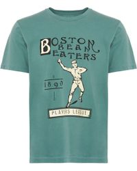Ebbets Field Flannels - Boston Beaneaters 1890 T-shirt - Lyst