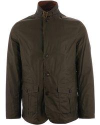 Barbour - Lightweight Sander Waxed Cotton Jacket - Olive - Lyst