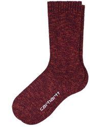 Carhartt WIP Ascott Socks - Red