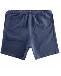 Nigel Cabourn Embroidered Arrow Shorts - Blue
