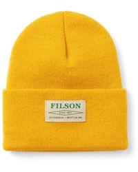 Filson Ballard Watch Cap - Yellow