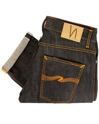 Nudie Jeans Grim Tim Org Dry Selvage Jeans Sku111205 - Multicolor