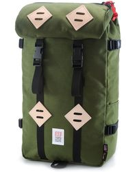 Topo Designs - Topo Design Kettlesack Olive Backpack - Lyst