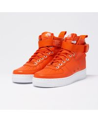 Nike Special Field Air Force 1 Mid - Team Orange