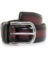Andersons - Polished Leather Belt - Lyst