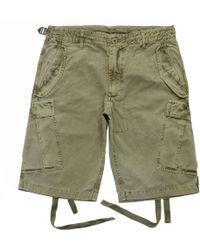 Maharishi M65 Olive Vintage Garment Dyed Cargo Shorts 6013 - Green