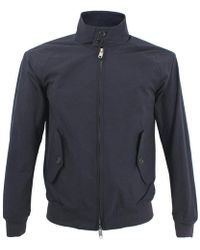 Baracuta - G9 Original Harington Jacket Petrol Blue - Lyst