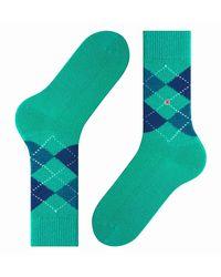 Burlington Preston Socks - Green