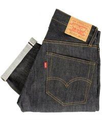 Levi's Levis Vintage 1967 - 505 Rigid Pre-shrunk Dark Indigo Jeans - Blue