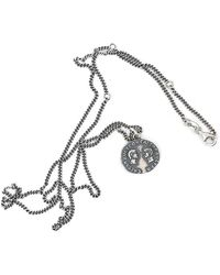 Serge Denimes Silver Saviour Necklace - Metallic