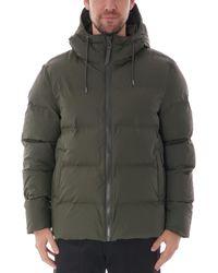 Rains Puffer Jacket - Green