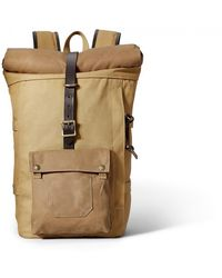 Filson Roll-top Backpack - Tan - Brown