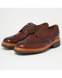 Grenson - Archie Brogue Shoes - Lyst