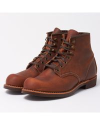 Red Wing - Blacksmith 3343 Copper Leather Boots - Lyst