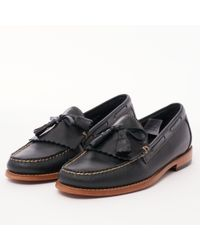 G.H.BASS - Layton Pull Up Kiltie Loafers - Lyst