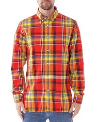 Tommy Hilfiger Check Flannel Shirt - Red