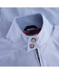 Baracuta G9 Suede Harrington Jacket - Blue