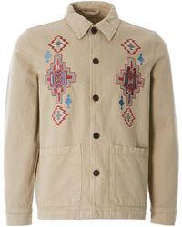 Nudie Jeans Barney Desert Jacket - Natural