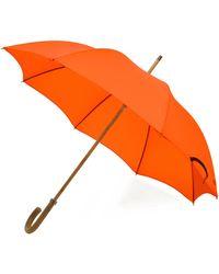 London Undercover - City Gent Orange Umbrella - Lyst