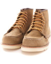 Red Wing 6-inch Moc Toe Womens Boots 3377 - Green