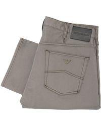Emporio Armani J21 Grey Chino Jeans