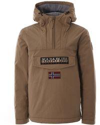 Napapijri Rainforest Winter Jacket - Natural
