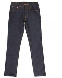 Nudie Jeans Lean Dean Denim Jeans - Blue