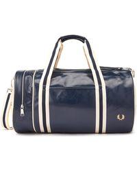 Fred Perry Classic Barrel Bag - Multicolour