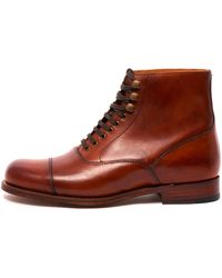 Grenson Leander Oxford Boot - Brown