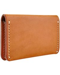 Red Wing Leather Card Holder - Brown