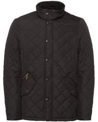 Barbour Powell Quilted Black Jacket Mqu0281Bk11
