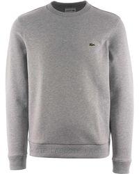 0ce802270 Lacoste Cotton Fleece Sapphire Blue Sweatshirt Sh1924 in Blue for ...
