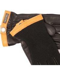Hestra Deerskin Wool Tricot Gloves - Black