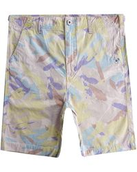 Nigel Cabourn X Element Overall Short - Multicolour