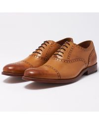 Grenson Tom Tan Shoes 518902 - Multicolour