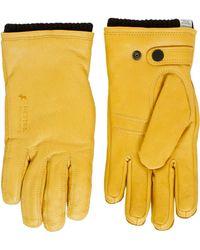 Norse Projects - Norse X Hestra Utsjo Rapseed Gloves - Lyst