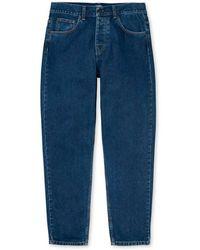 Carhartt WIP Newel Trousers - Blue Stone