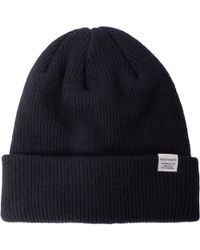 Norse Projects Top Beanie - Blue