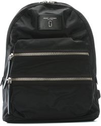 Marc Jacobs - Biker Ii Black Nylon Backpack - Lyst