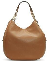 Michael Kors - Large Fulton Acorn Leather Shoulder Tote Bag - Lyst