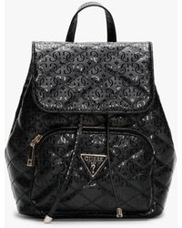 Guess Affair Small Backpack in Black Lyst